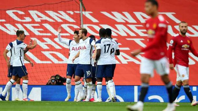 MU có giải đoạn khởi đầu mùa giải thất vọng với trận thua đậm trước Tottenham