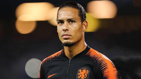Chính thức: Van Dijk không thể dự EURO 2020
