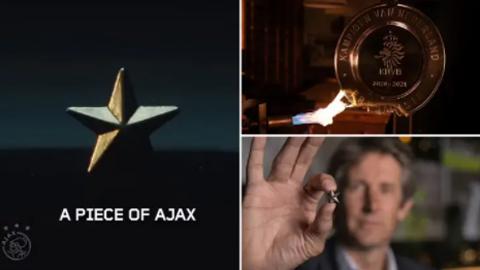 Ajax 'nấu' cúp vô địch và chia phần cho 42.000 fan