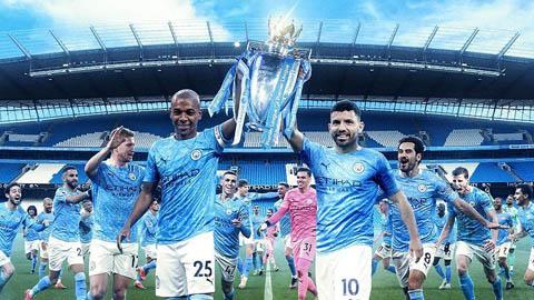 Man City ăn mừng chức vô địch Ngoại hạng Anh 2020/21 tưng bừng trên... MXH