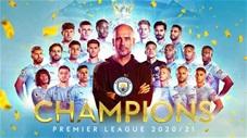 Man City chính thức vô địch Ngoại hạng Anh