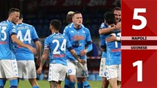 Napoli vs Udinese: 5-1 (Vòng 36 Serie A 2020/21)