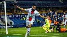 Mbappe lại gây sốt với pha bứt tốc solo ghi bàn từ giữa sân vào lưới Montpellier