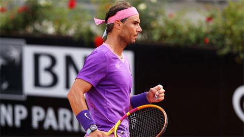 Nadal khởi đầu suôn sẻ ở Rome