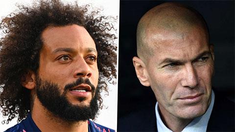 'Bật' thầy trên sân tập, Marcelo bị HLV Zidane trừng phạt