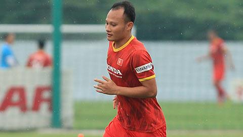 Trọng Hoàng hồi phục chấn thương thần tốc, trở lại tập luyện cùng ĐT Việt Nam