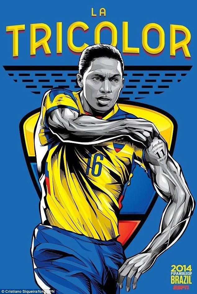 Anh là ngôi sao lớn nhất nền bóng đá Ecuardor và từng được tham dự World Cup 2006