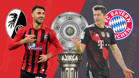 Nhận định bóng đá Freiburg vs Bayern, 20h30 ngày 15/5