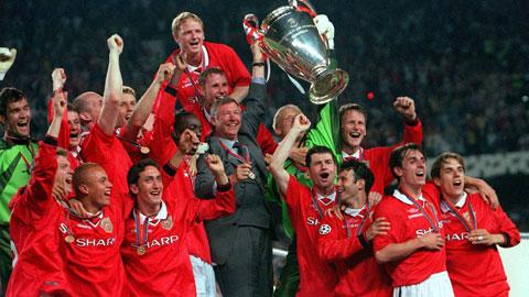Chiến thắng của Man United ở trận chung kết Champions League năm 1999 được coi là đỉnh cao trong sự nghiệp cầm quân lẫy lừng của Sir Alex Ferguson