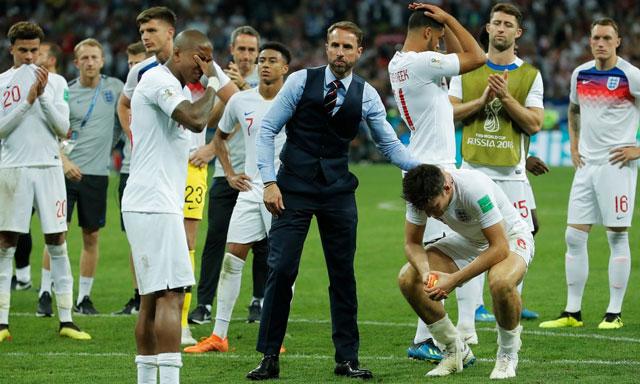 Cảm giác sụp đổ của ĐT Anh sau trận bán kết với Croatia