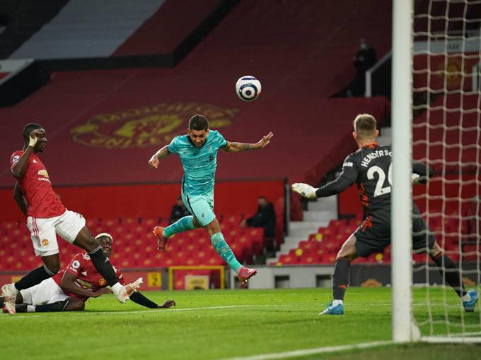 Firmino ghi liền 2 bàn để đưa Liverpool vượt lên dẫn 3-1