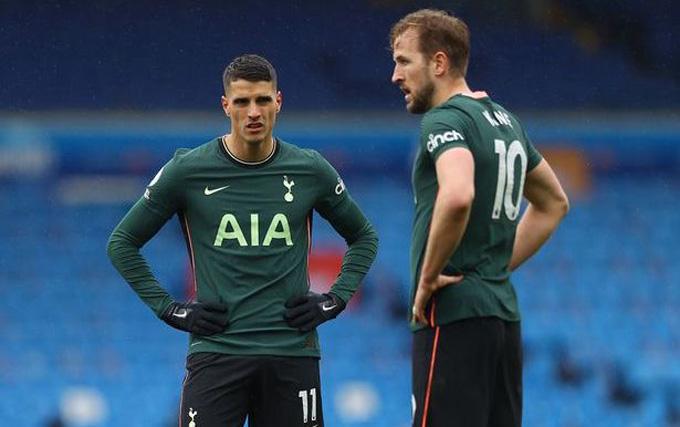 Tottenham gần như đã hết hy vọng vào top 4