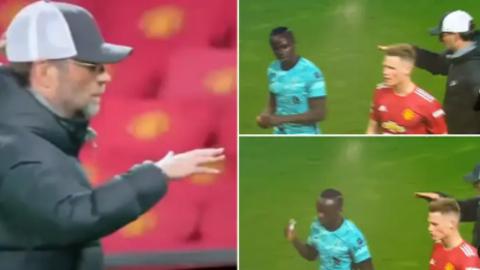 Mane từ chối ăn mừng với Klopp sau trận Liverpool thắng MU