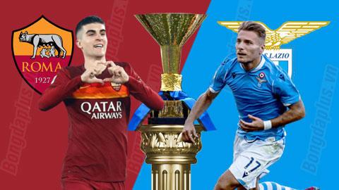 Soi kèo Roma vs Lazio, 01h45 ngày 16/5: Tài trận Roma - Lazio