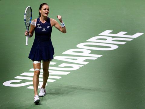 Agnieszka Radwanska từng vào đến chung kết Wimbledon 2021