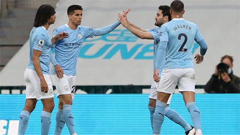 Man City sở hữu mạch 12 trận thắng liên tiếp trên sân khách ở Ngoại hạng Anh