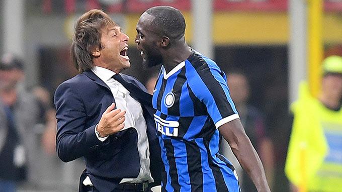 Conte chính là người có công lớn giúp Lukaku hoàn thiện bản thân