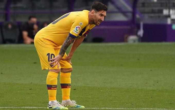 Messi đã sắp 34 tuổi và không thể chơi bóng đỉnh cao thêm quá lâu
