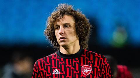 David Luiz sẽ chia tay Arsenal vào cuối mùa giải 2020/21