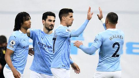 Man City: Guardiola không còn cần trung phong đích thực
