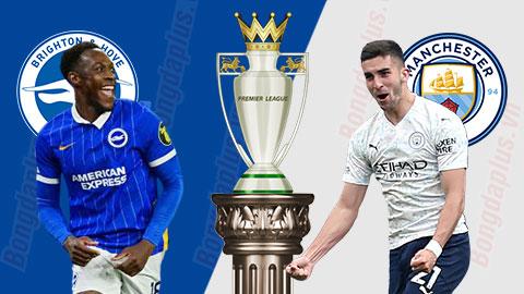 Nhận định bóng đá Brighton vs Man City, 01h00 ngày 19/5: Màn tập dượt quan trọng
