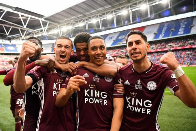 Chelsea đã mất chức vô địch FA Cup vào tay Leicester