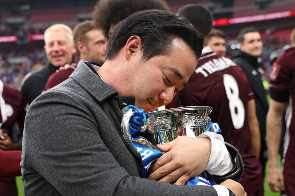 Cúp FA vừa qua lại ghi thêm thành công trong sự đầu tư của nhà Vichai tại Leicester