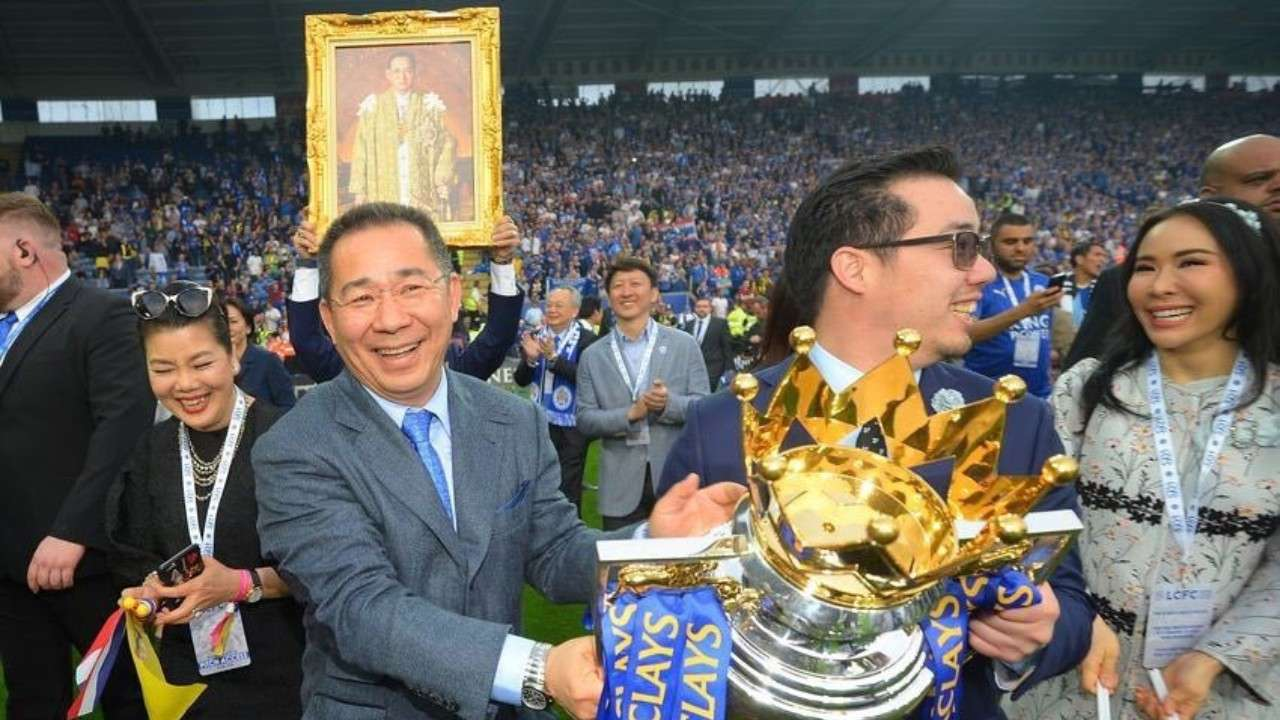 Chức vô địch Premier League 2015/16 cho thấy Leicester là thương vụ thắng lớn của Vichai