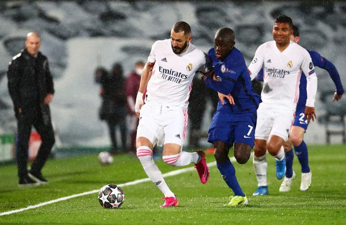 Việc Real bị Chelsea loại ở bán kết Champions League là một phần nguyên nhân khiến Zidane quyết định ra đi