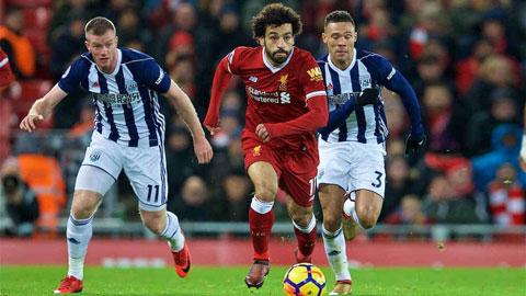 Trực tiếp West Brom vs Liverpool, 22h30 ngày 16/5