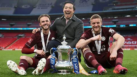 Tiền thưởng vô địch FA Cup của Leicester chưa bằng lương tháng của Ronaldo