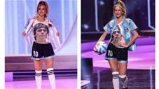 Những video độc, dị nhất tuần: Hoa hậu Argentina tri ân Maradona ấn tượng tại Miss Universe
