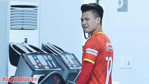 Quang Hải không chấn thương nghiêm trọng