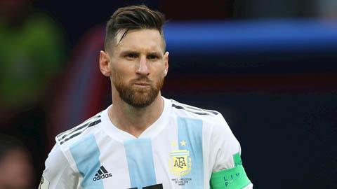Messi được gọi vào ĐT Argentina đấu Chile và Colombia