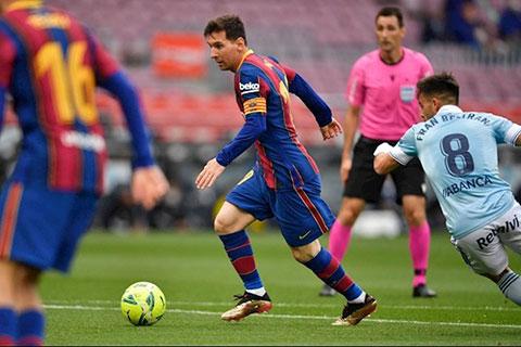 Người đại diện của Messi liên hệ với các đội bóng Anh, có Man United