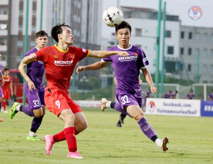 HLV Park Hang Seo thử nghiệm đa số cầu thủ Việt Nam - Ảnh: VFF