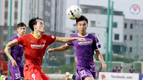 Chi tiết chưa từng có ở ông Park Hang Seo trong trận đá tập giữa U22 Việt Nam - ĐT Việt Nam