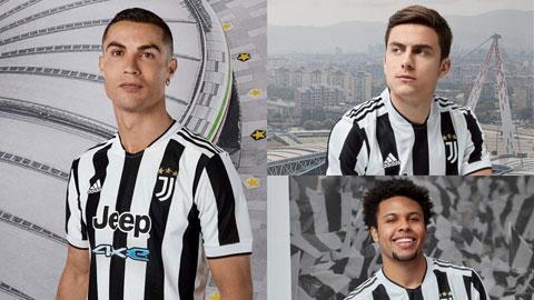 Bị đồn ra đi, Ronaldo vẫn xuất hiện cùng áo đấu mới của Juventus
