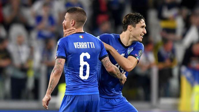 ĐT Italia công bố danh sách sơ bộ: Jorginho và Emerson chỉ tạm vắng mặt?