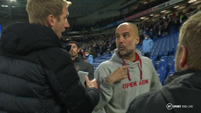 Potter có xích mích với Guardiola?