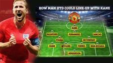 MU sẽ đá với đội hình nào nếu chiêu mộ được Harry Kane?