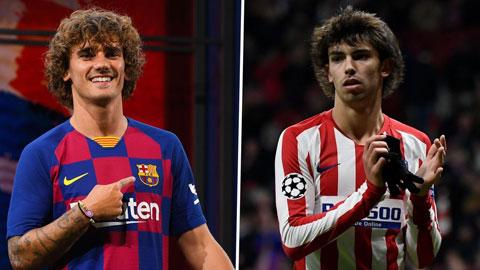 Barca sẽ đổi Griezmann lấy Felix
