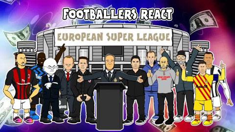 Ý tưởng thành lập Super League được ví như vụ nổ lớn của bóng đá châu Âu