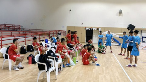 ĐT futsal Việt Nam hoàn thiện lối chơi