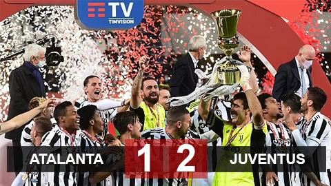 Kết quả Atalanta 1-2 Juventus: Sao trẻ tỏa sáng thay Ronaldo đưa Juve vô địch Coppa Italia