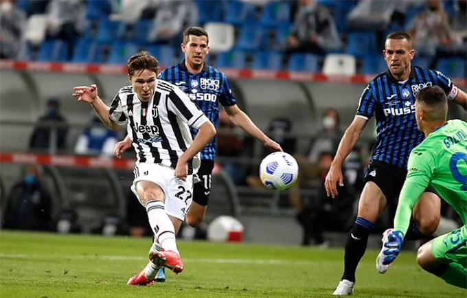 Chiesa là người hùng của Juve
