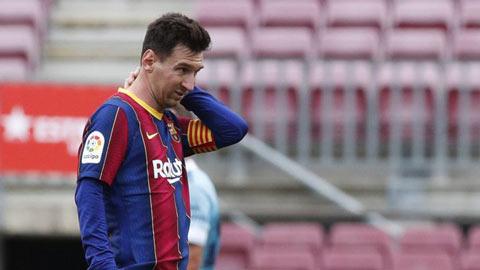 Messi muốn ở lại Barca nhưng gia đình yêu cầu anh đến PSG