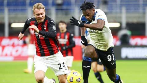 Atalanta quyết thắng Milan vì vị trí á quân Serie A