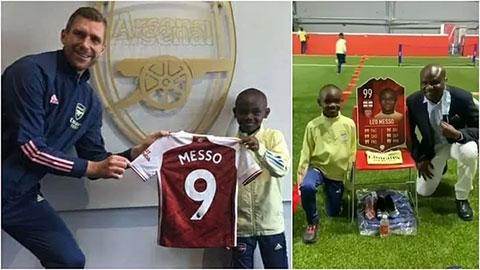 Arsenal chiêu mộ thành công 'Messi nhái' 10 tuổi