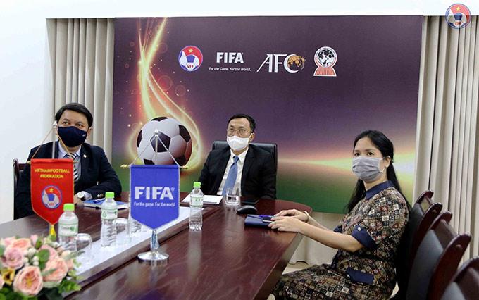 Đại diện LĐBĐVN tham dự Đại hội có Phó chủ tịch thường trực Trần Quốc Tuấn, Phó chủ tịch Cao Văn Chóng, Tổng thư ký Lê Hoài Anh và Phó Tổng thư ký Nguyễn Thanh Hà tham dự Đại hội FIFA